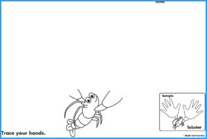 Lobster Hands Activity