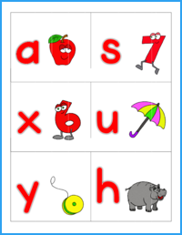 Alphabet Sounds Flashcards