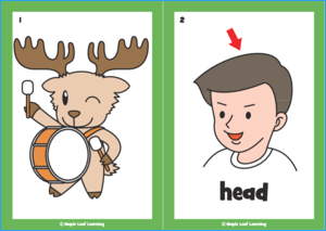 Can You Play the Drums? Song Flashcards