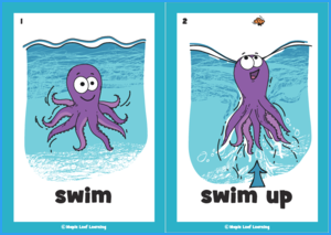 Octopus Song Flashcards