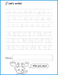 Alphabet Sounds Worksheet