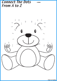Connect the Dots Teddy Bear