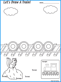 Draw a Train