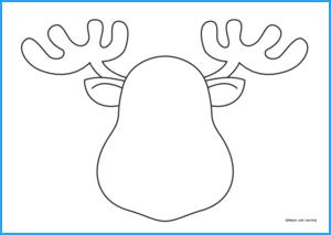 Draw the Reindeer Worksheet