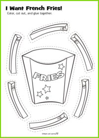 French Fries Activity