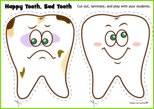Happy Tooth/Sad Tooth Game