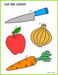 Cut the Carrot Activity